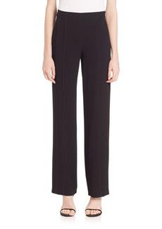 Elie Tahari Evie Solid Pants