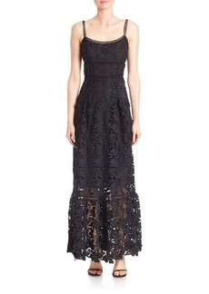 Elie Tahari Floral Lace Dress