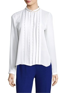 Elie Tahari Fontaine Silk Blouse