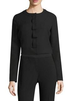 Elie Tahari Geneva Cropped Jacket