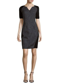 Elie Tahari Geovana Fitted Dress