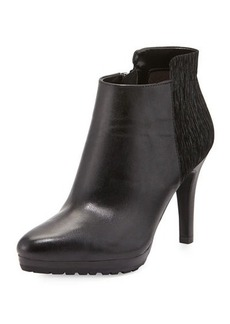 Elie Tahari Gordan Leather/Suede Bootie