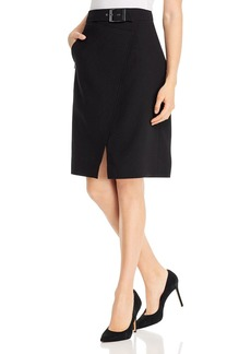 Elie Tahari Graceyln Belted Skirt