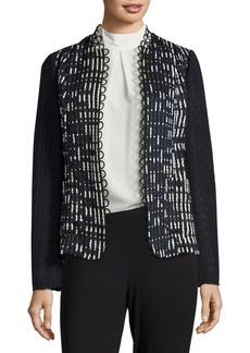 Elie Tahari Greer Textured Jacket