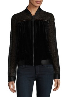 Elie Tahari Gretchen Zip Jacket
