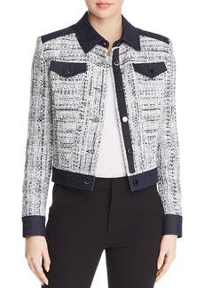 Elie Tahari Gwyneth Tweed Jacket