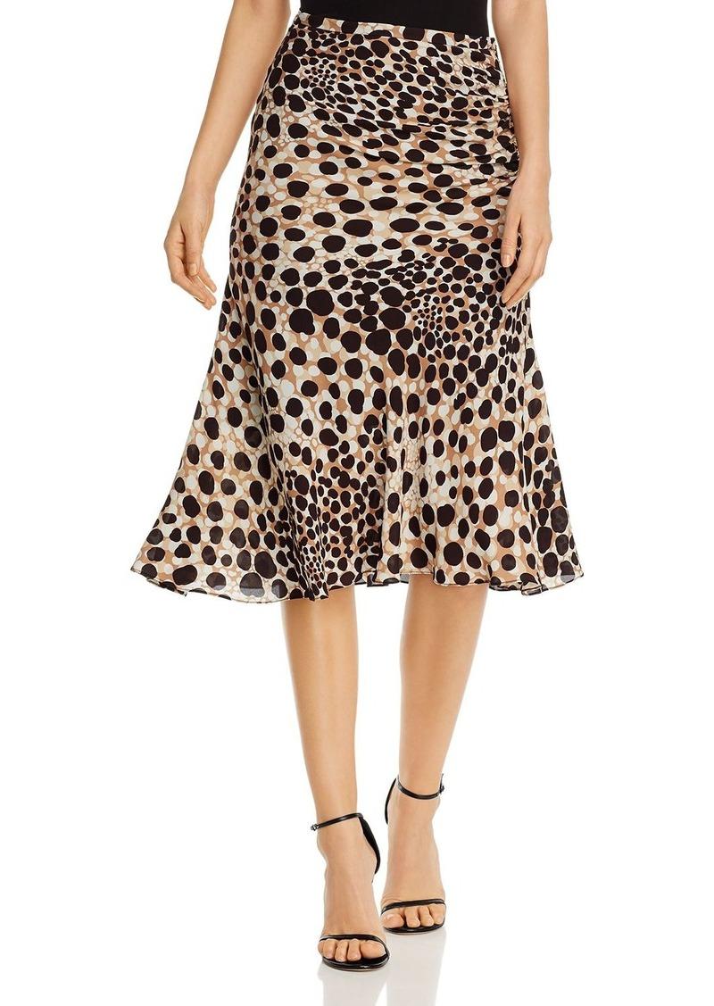 Elie Tahari Haidee Printed Midi Skirt
