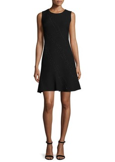 Elie Tahari Harlow Sleeveless Fit-&-Flare Dress