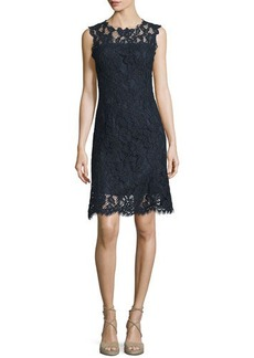 Elie Tahari Harlow Sleeveless Lace Dress