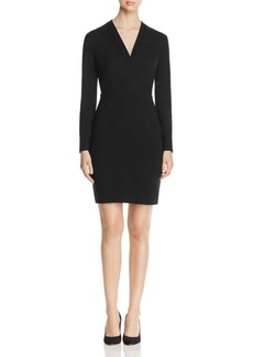 Elie Tahari Heather Long Sleeve Sheath Dress