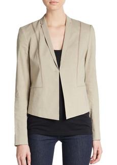 Elie Tahari Heidi Linen Blend Jacket