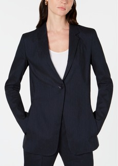 Elie Tahari Hillary Single-Button Jacket