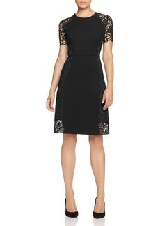 Elie Tahari Hudson Lace Side Dress