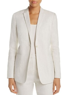 Elie Tahari Ivy Striped Jacket