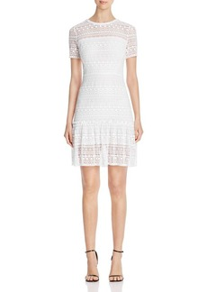 Elie Tahari Jacey Crochet Lace Dress