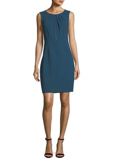 Elie Tahari Jadea Sleeveless Zip-Front Dress