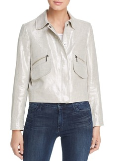 Elie Tahari Jaquelyn Zip Jacket