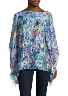 Elie Tahari Jayden Floral Kimono Top