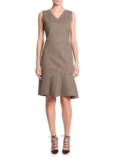 Elie Tahari Jayden Ponte Dress