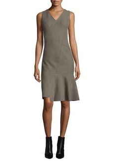 Tahari Woman Jaydn Sleeveless V-Neck Dress
