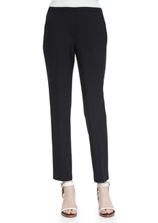 Elie Tahari Jillian Slim Wool Pants  Black