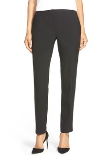 Elie Tahari 'Jillian' Stretch Wool Slim Leg Pants