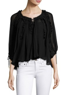 Elie Tahari Jocelyn Silk Blouse