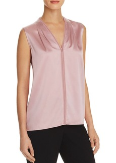Elie Tahari Joelle Stretch Silk Blouse