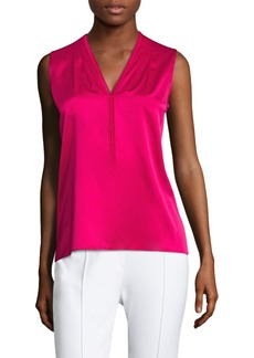 Elie Tahari Joelle Stretch-Silk Blouse