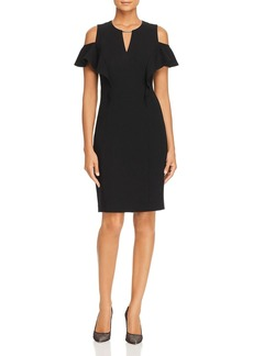 Elie Tahari Johari Cold-Shoulder Dress