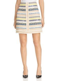 Elie Tahari Julietta Tweed Skirt