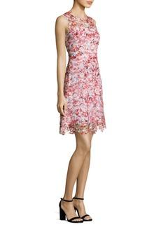 Elie Tahari Kaisa Floral Lace Dress