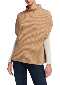Elie Tahari Kalyn Turtleneck Dolman-Sleeve Sweater