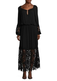 Elie Tahari Kimmie Gathered A-Line Dress