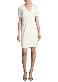 Elie Tahari Kimmy Textured Sheath Dress
