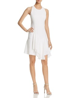 Elie Tahari Lalana Asymmetric-Ruffle Dress