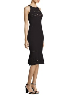 Elie Tahari Lauren Cutout Sweater Dress