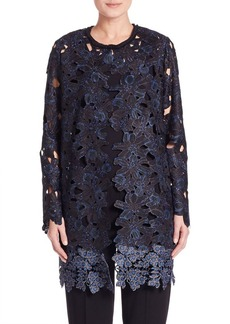 Elie Tahari Lauren Lace Jacket