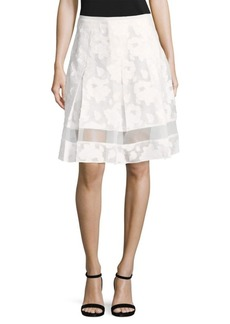 Elie Tahari Lauren Lace Skirt