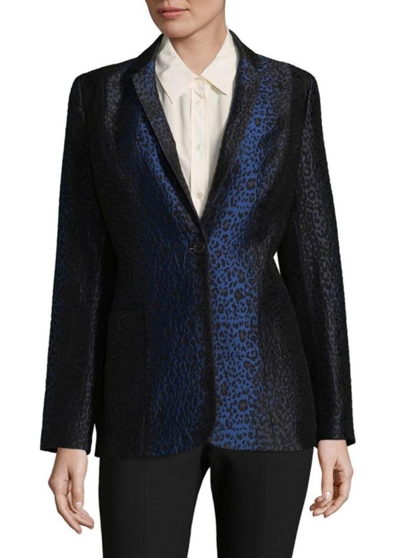 Elie Tahari Leopard Print Jacket
