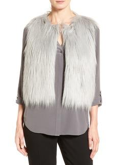Elie Tahari 'Lilian' Faux Fur Vest
