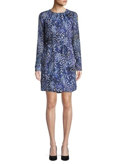 Elie Tahari Lilo Printed Silk Dress