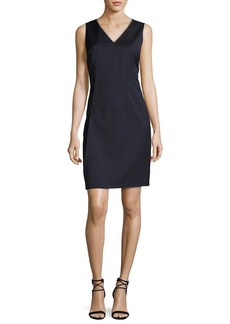 Elie Tahari Linzi Sleeveless V-Neck Sheath Dress