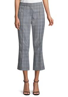 Elie Tahari Lisa Glen Plaid Cropped Pants