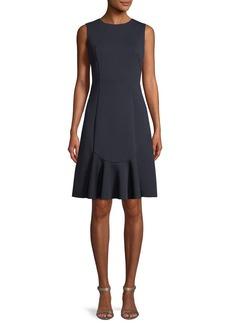 Elie Tahari Lizzie Sleeveless A-Line Dress