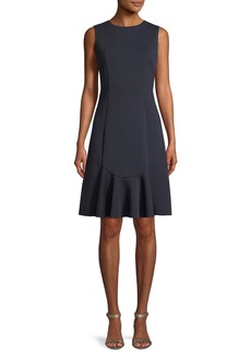 Elie Tahari Lizzie Sleeveless A-Line Dress