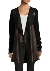 Elie Tahari Long Open Front Cardigan