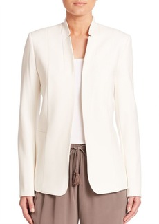 Elie Tahari Long Sleeve Open-Front Jacket