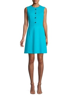 Elie Tahari Louisa Knit A-Line Dress