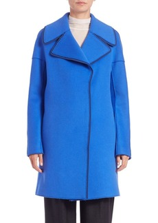 Elie Tahari Louisa Wool-Blend Coat